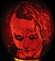 The Joker Jack O' Lantern by JRSly