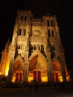 Amiens Cathedral Notre Dame by chrono75