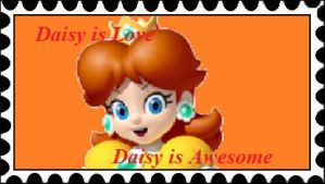 Daisy is Love, Daisy is Awesome Stamp by RamosisMario89