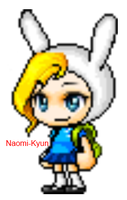 Fionna Free Character {From Adventure Time} by Naomi-Kyun