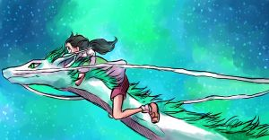 Spirited Away by pebbled