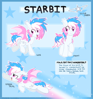 Starbit Reference Sheet by Prince-Lionel