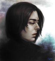 Severus Snape by GuppyBlue