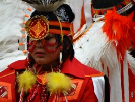 Native American Boy at AIRO Pow Wow 5/2/2015 7:28 by Crigger