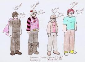 Good Siders Human Forms1 by DarkOliver
