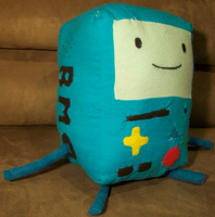 BMO Plush by The-Rebexorcist