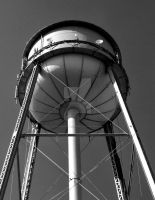 Water Tower by KingPinPhotography