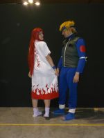 Minato and Kushina cosplay - That's mine! by MysticTequilaPit