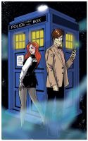 The 11th and Amy Pond Colors by Hodges-Art