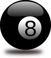 Billiard Balls (png and eps format) by elessa22