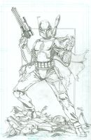 Boba Fett commission by seanforney