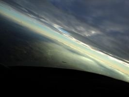 Soaring above clouds 2 by Kiba67