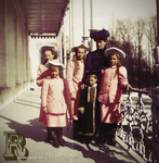 Children of Russia with Mother by Livadialilacs