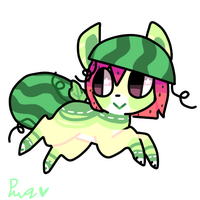 water melon igie adopt :CLOSED: by puqqie