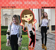 Martina Stoessel Doll (en Paris) by RoohEditions