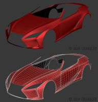 2012 Lexus LF-LC Concept WIP1 by The-IC