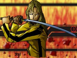 Kill Bill color by psychoheat