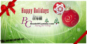 BOC - Happy Holidays by BeadsofCambay