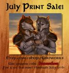 July Print Sale by KatieHofgard