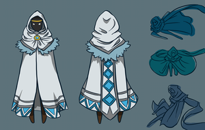 Journey - Winter Traveller Concept + Poses by snowcube94