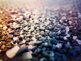 Beach Pebbles by Izzie-Hill