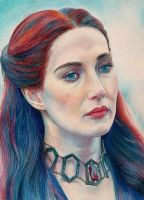 The Red priestess - Melisandre by Pevansy