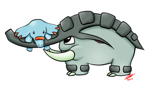 #231 Phanpy and #232 Donphan