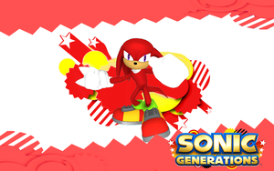 Sonic Generations-Knuckles by NIBROCrock