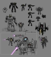 Some 2010 Transformer doodles by Lateart