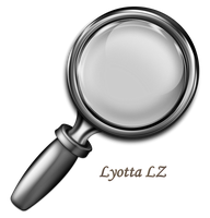 Magnifying glass icon PNG by Lyotta