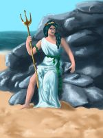 Amphitrite of the Sea by MistyCascade