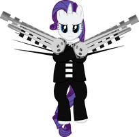 Rarity as Death the Kid by sakatagintoki117