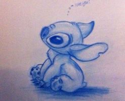 Stitch love you? by nma-art