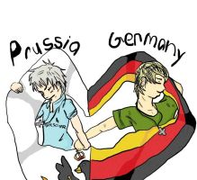 Germany and Prussia by FelicianoVargas-San