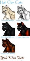 Cats of the... by VampireSelene13