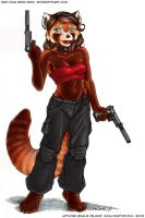 Don't mess with Nikki. by ScullyRaptor
