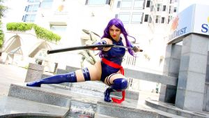 Psylocke - Butterfly on the Wind by etaru