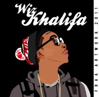 Wiz Khalifa by Fraa-Art