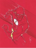 The Flash by Hodges-Art