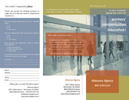 Insurance Agency Brochure Ext by aCleverTitleGoesHere