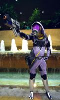 Tali Taking Aim by Haganegirl