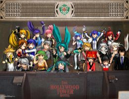 Vocaloid Disney Vacation: Tower of Terror by TheKohakuDragon