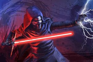13 NoH Day 8 Kylo Ren by Grimbro