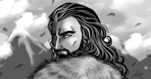 Thorin Oakenshield by Reya84