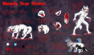 Bloody Tear Stains ref sheet by JamJams