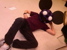 My deadmau5 head by KiD-baBi