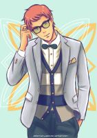Prepster Louis by HanzaLee