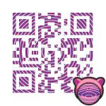 Kitty QR Code by vrakitaz