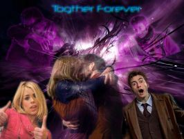 Doctor+Rose together Forever by icewormie