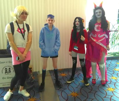 Lemme tell you boout homestuck by yellowdragonflower